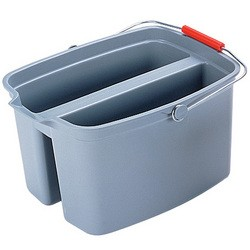 CUBO DOBLE 18 L. RUBBERMAID